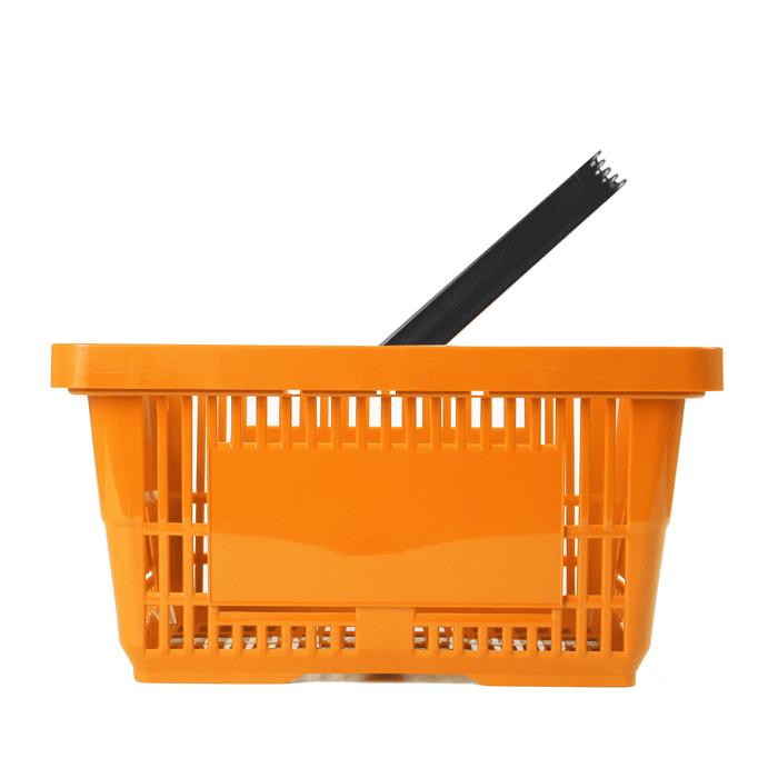 einkaufskorb orange 28liter einzelgriff