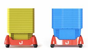 grössen für stapelwagen